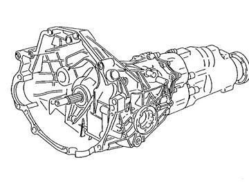 Skrzynia Audi A4 (DGW)