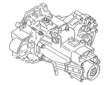 Skrzynia Audi A3 (DUU)
