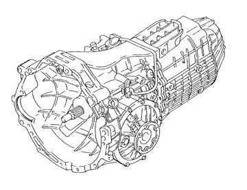 Skrzynia Audi A4 (DVZ)