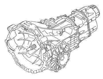 Skrzynia Audi A4 (FRF)