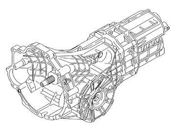 Skrzynia Audi A6 (GVC)