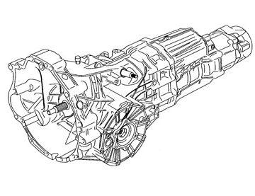 Skrzynia Audi A6 (HVE)