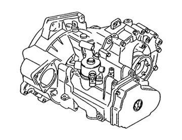 Skrzynia Volkswagen Touran (HYG)
