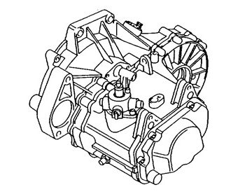 Skrzynia Audi A3 (JCR)