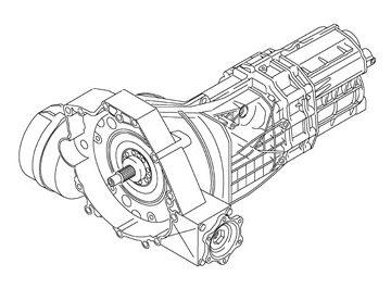 Skrzynia Audi A4 (KXP)