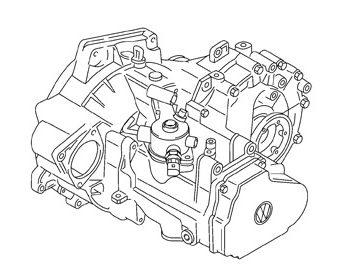 Skrzynia Audi A3 (KXY)