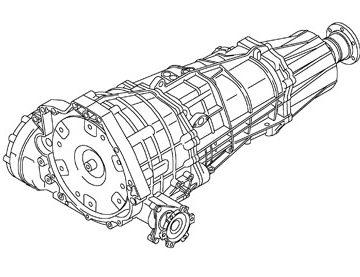 Skrzynia Audi A4 (LDD)