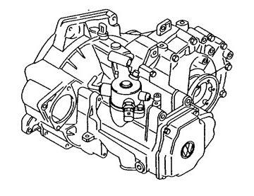 Skrzynia Audi A3 (LHW)