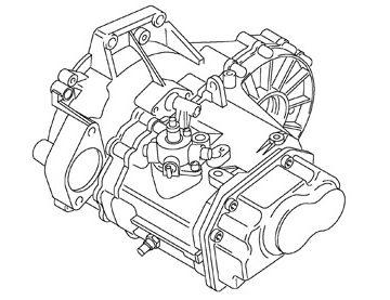 Skrzynia Audi A3 (LPR)