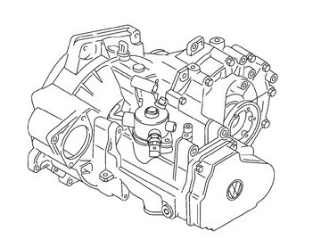 Skrzynia Audi A3 (NFU)