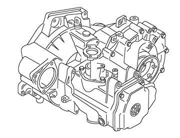 Skrzynia Audi A3 (PGT)