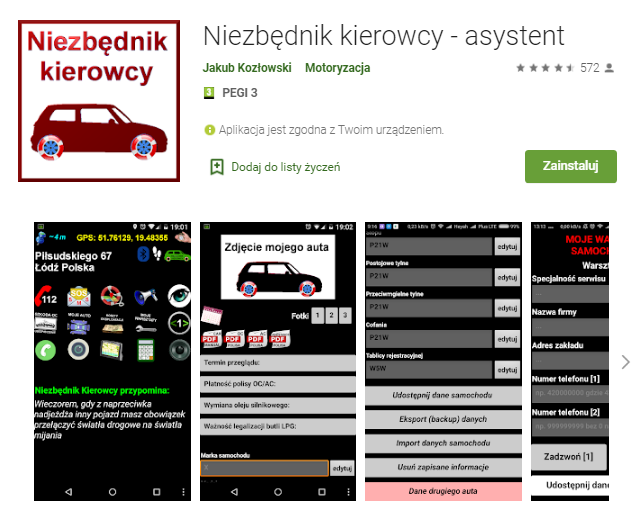 Niezbędnik-kierowcy-asystent-aplikacja-android-samochod-najlepsze-aplikacje-dla- kierowcow-skrzynie-zajac-skrzynie-biegow-manualne-sklep-interntowy