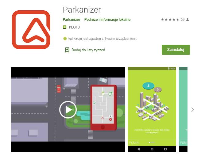 Parkanizer-aplikacja-android-samochod-najlepsze-aplikacje-dla- kierowcow-skrzynie-zajac-skrzynie-biegow-manualne-sklep-interntowy